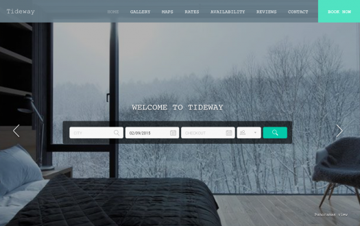 Tideway Winter website template