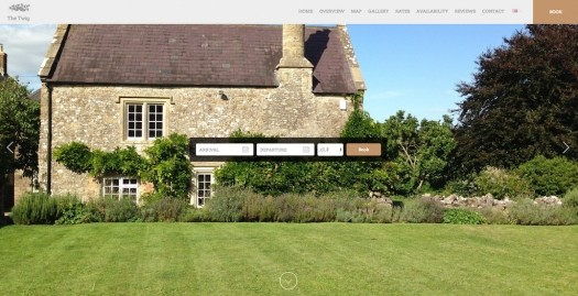 Lodgify Website Example B&B The Twig