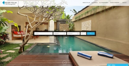 Lodgify Website Example Multi NewLife Villas