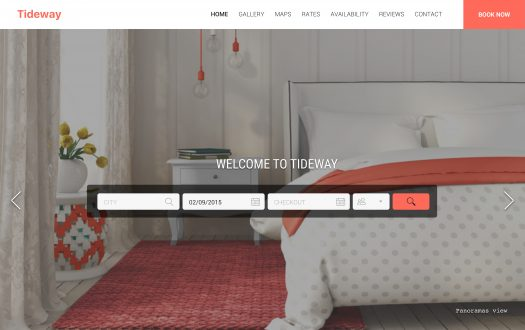 Tideway Soft Themed web template