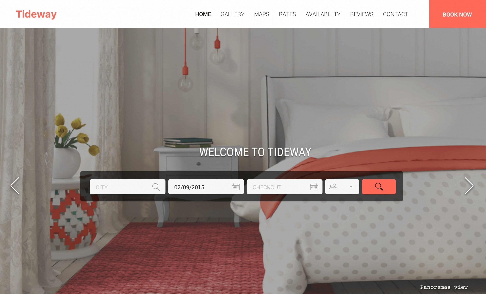 holiday home website templates