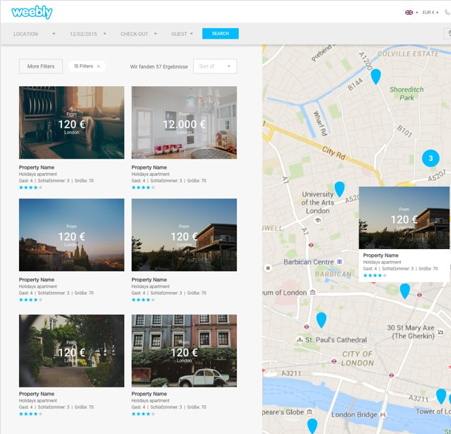 Weebly Widgets For Location