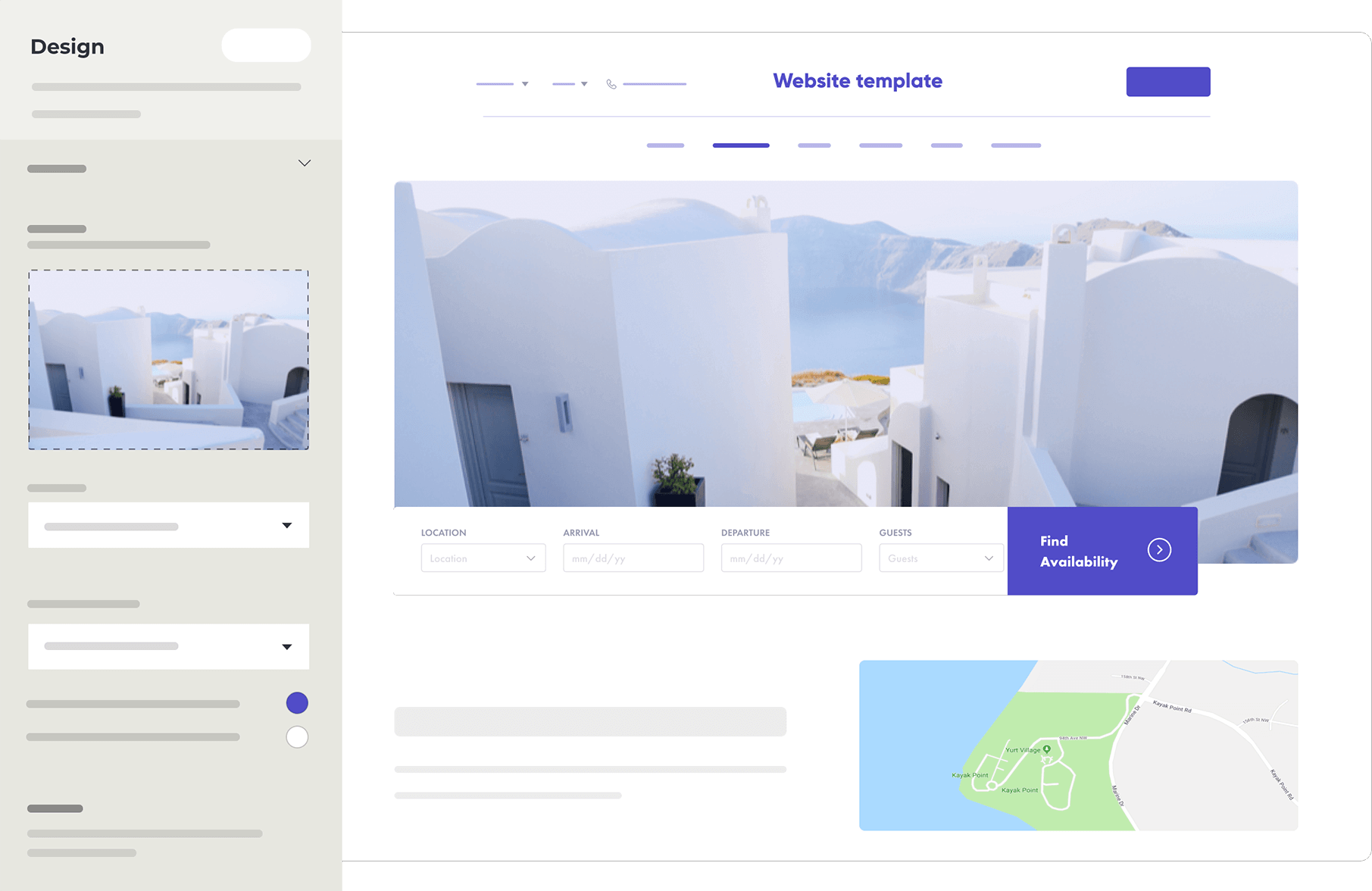 Vacation Rental Website Builder